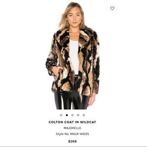Jackets & Blazers - Worn once! Faux Fur Coat from REVOLVE